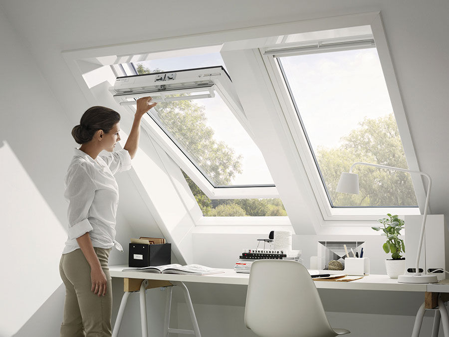 Arbeitszimmer gestaltungsmöglichkeiten  Mehr Platz und Licht unterm Dach